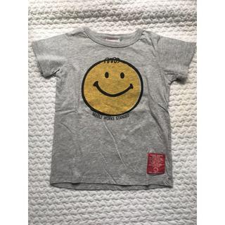 ニードルワークスーン(NEEDLE WORK SOON)のNEEDLE WORK S グレー Tシャツ size120(Tシャツ/カットソー)