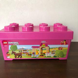 Lego - ピンクのコンテナ レゴジュニア