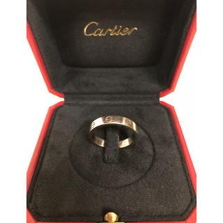 Cartier - カルティエ ミニラブリング k18WG 19号
