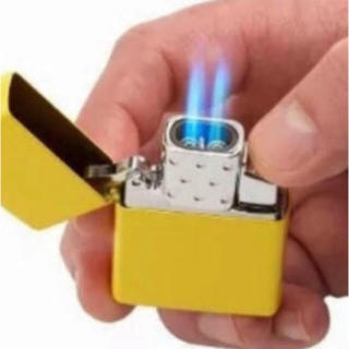 ジッポー(ZIPPO)のzippo純正品 ダブルライター インサイドユニット アメリカで大人気(タバコグッズ)