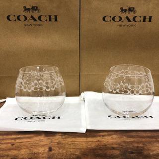 COACH - COACH コーチ ペアゆらゆらグラス