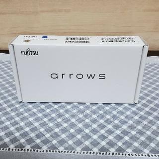 アローズ(arrows)の富士通 arrows RX ゴールド 32GB(スマートフォン本体)