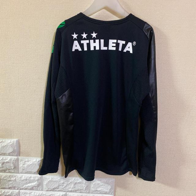 【お値下げ中】 アスレタ  ロンT  150 プラクティスシャツ スポーツ/アウトドアのサッカー/フットサル(ウェア)の商品写真