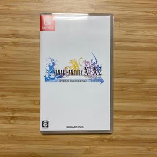 ニンテンドースイッチ(Nintendo Switch)のFINAL FANTASY X/X-2HD Remaster Switch(家庭用ゲームソフト)
