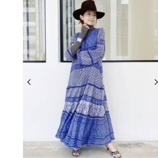 L'Appartement DEUXIEME CLASSE - 【BLUE BOHEME/ブルー ボヘム】Printed Long Dress