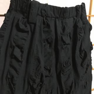 センソユニコ(Sensounico)の[  モユル 萠  ]  サルエルパンツ ブラック(サルエルパンツ)