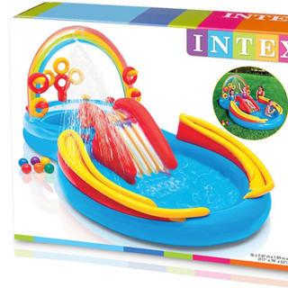 インデックス(INDEX)のINTEX 新品 未使用 ☆滑り台付きプール☆(マリン/スイミング)