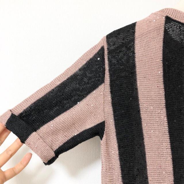 BRUNELLO CUCINELLI(ブルネロクチネリ)の美品 ブルネロクチネリ モニーレ・スワロ胸章 スパン装飾 17SS 半袖トップス レディースのトップス(カットソー(半袖/袖なし))の商品写真