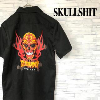 スカルシット(SKULL SHIT)のスカルシット エルレガーデン ワーク SKULLSHIT 古着シャツ(シャツ)