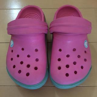 クロックス(crocs)のクロックス サンダル12センチ(サンダル)