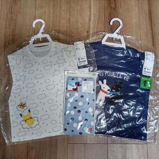 UNIQLO - UNIQLO 半袖Tシャツ レギンス(7分丈)