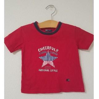 TOMMY HILFIGER - TOMMY HILFIGER トミーヒルフィガー Tシャツ 100 赤 レッド