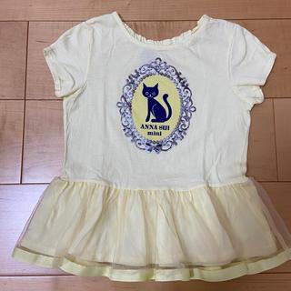 ANNA SUI mini - ANNA SUI mini☆ネコ Tシャツ☆130cm