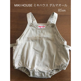 mikihouse - MIKI HOUSE ミキハウス ダルマオール サロペット 85cm
