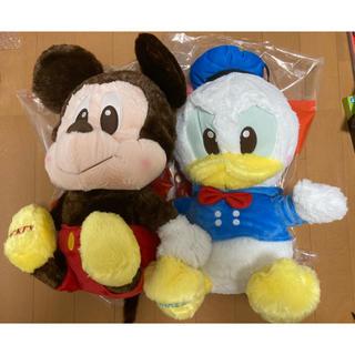 ディズニー ミッキーマウス ドナルドダック ぬいぐるみ セット