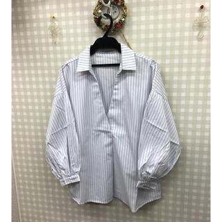 ジャイロ(JAYRO)の【新品】訳ありjayroスキッパーシャツ(シャツ/ブラウス(長袖/七分))