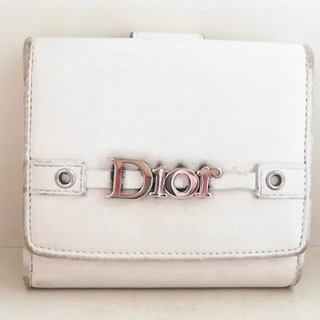 Christian Dior - クリスチャンディオール Wホック財布 -