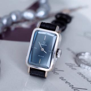 オメガ(OMEGA)のOMEGA オメガ グリマデザイン カットガラス✨トゥモローランド agete (腕時計)