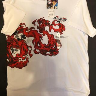ユニクロ(UNIQLO)のユニクロ コラボ鬼滅の刃tシャツ Mサイズ(Tシャツ/カットソー(半袖/袖なし))