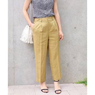 IENA - IENA French Linenタックパンツ◆ ¥14,300税込