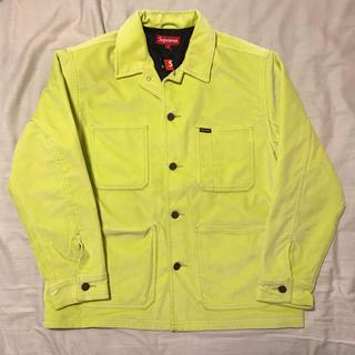 シュプリーム(Supreme)のSupreme Velvet Chore Coat Jacket ジャケット(カバーオール)