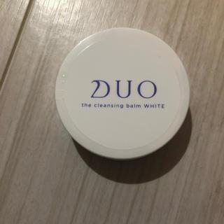【未使用】DUO ザ クレンジングバームホワイト 20g(クレンジング/メイク落とし)