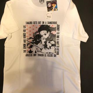 ユニクロ(UNIQLO)のユニクロ コラボ鬼滅の刃tシャツ(Tシャツ/カットソー(半袖/袖なし))