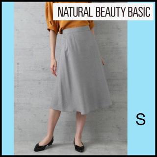 NATURAL BEAUTY BASIC - NATURAL BEAUTY BASIC ◇ クラブチェックスカート グレー S