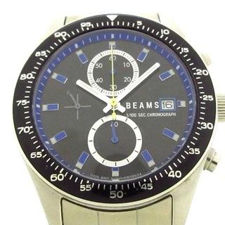 ビームス(BEAMS)のビームス 腕時計 - 0610-S060621 メンズ 黒(その他)