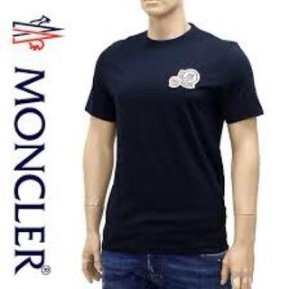 モンクレール(MONCLER)のモンクレール ダブルワッペン 黒 ブラック M 新品 タグ付き 送料込み(シャツ)