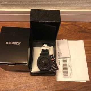 ジーショック(G-SHOCK)のG-SHOCK GA-2100-1A1JF オールブラック 新品 Gショック(腕時計(デジタル))