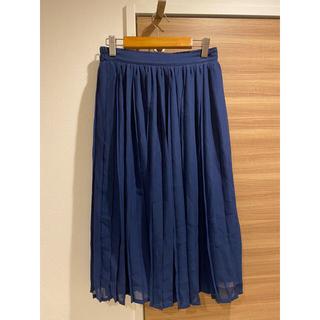 riche glamour リジェグラマー プリーツスカート ロングスカート(ロングスカート)