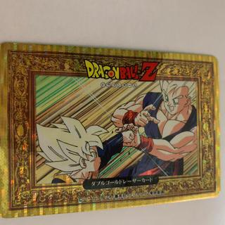 ドラゴンボール(ドラゴンボール)のドラゴンボールZ ダブルゴールドレーザーカード(カード)