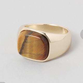 ジーナシス(JEANASIS)のストーンリング(リング(指輪))