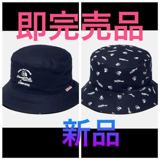 EXILE TRIBE - リバーシブルハット GU STUDIO SEVEN キャップ ネイビー 帽子