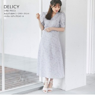 tocco - 売却済。DELICY ♡ バックレースアップワンピー