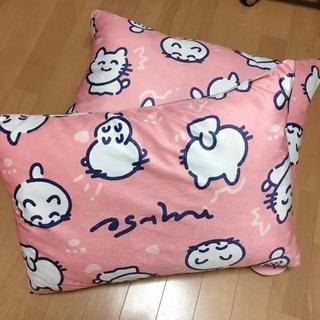 シマムラ(しまむら)の【新品タグ付き】しまむら なるせ まくらカバー付き枕 2個セット(枕)