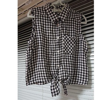H&M - H&M ギンガムチェックシャツ