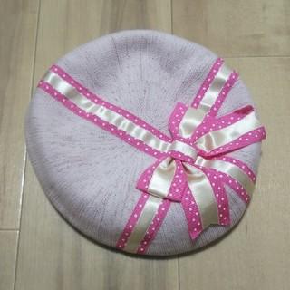 Shirley Temple - シャーリーテンプル ベレー帽 56cm