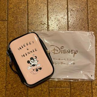 Disney - Sweet8月号 ミッキー&ミニードレッサーポーチ