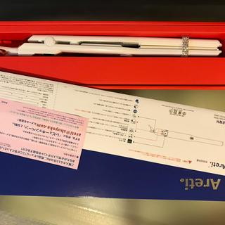 【新品】 Areti アレティ i628PCPH-WH 15mm ヘアアイロン(ヘアアイロン)