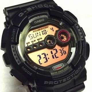 ジーショック(G-SHOCK)のLEDレッドライト!GD-100MS-1JF G-SHOCK(腕時計(デジタル))