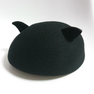 エリアーヌジジ(elianegigi)の猫耳フェルトベレー帽(ハンチング/ベレー帽)