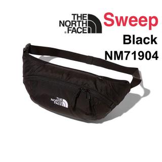 ザノースフェイス(THE NORTH FACE)のノースフェイス ボディバッグ SWEEP スウィープ ブラック 新品(ウエストポーチ)