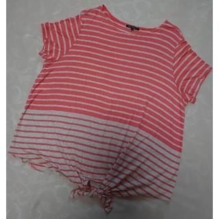 ニジュウサンク(23区)の23区 🌿 カットソー デザインTシャツ 46(カットソー(半袖/袖なし))