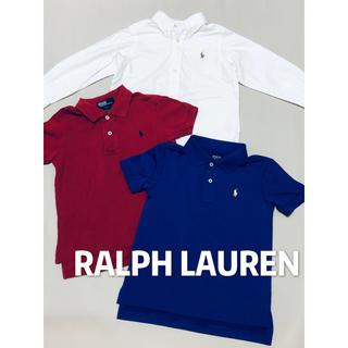 POLO RALPH LAUREN - ラルフローレン POLO ポロシャツ 3点セット 美品 100