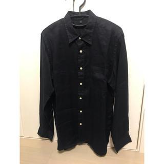 ムジルシリョウヒン(MUJI (無印良品))の無印良品 メンズシャツ 麻100%(シャツ)