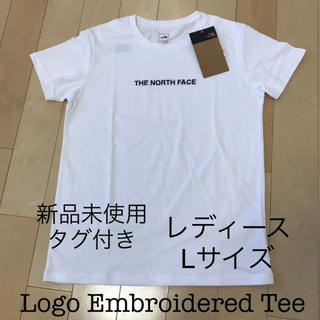 THE NORTH FACE - 【新品未使用】ノースフェース Logo Embroidered Teeレディース