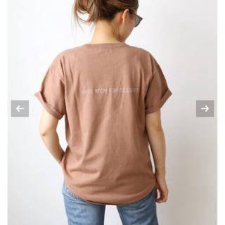 DEUXIEME CLASSE - 新品未使用 キャラクス SAVE ROOM FOR DESSERT Tシャツ