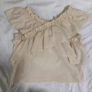 レトロガール(RETRO GIRL)のフリルトップス(カットソー(半袖/袖なし))